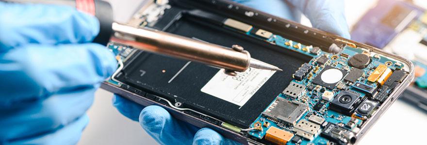 Réparateur de smartphones