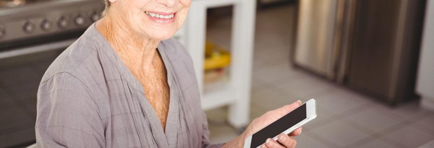 telephone portable pour senior